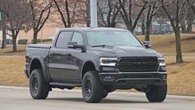 All-New Hellcat-Powered 2021 Ram Rebel TRX Spied Testing