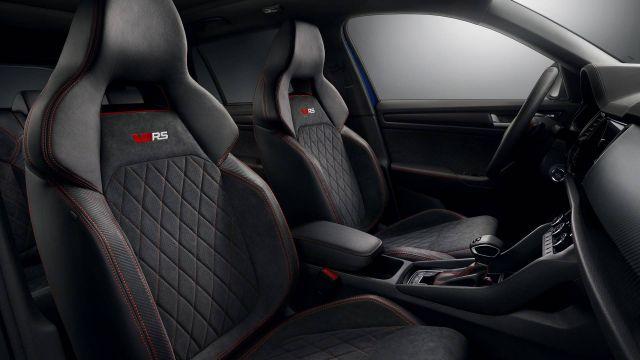 Skoda Kodiaq Pickup RS seats