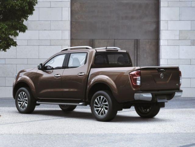 2020 Nissan Frontier Diesel rear