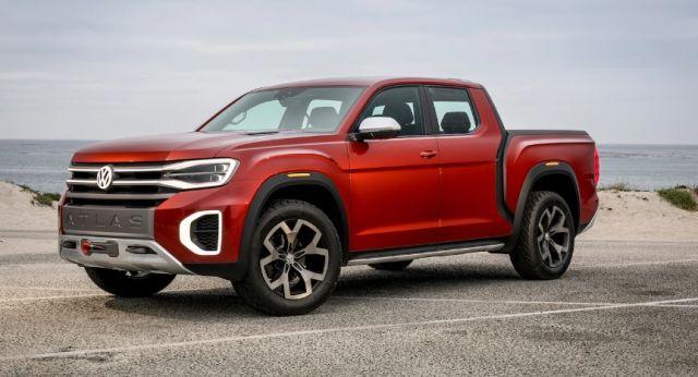2020 Volkswagen Atlas Tanoak front