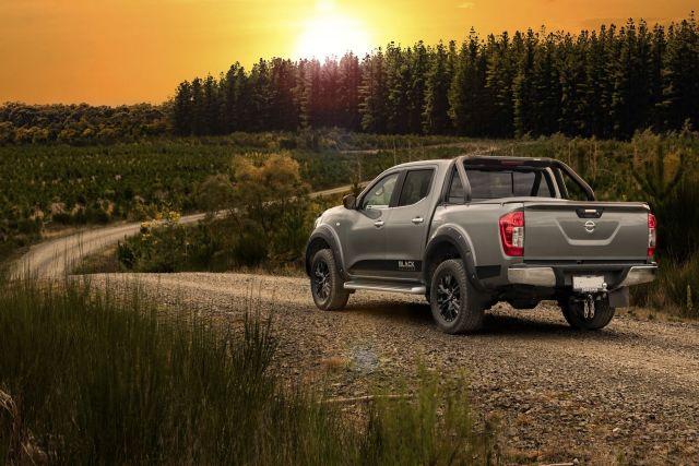 2021 Nissan Frontier rear