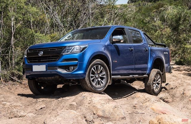 2020 Holden Colorado front