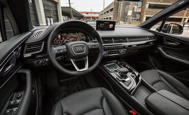 2020 Audi Pickup Truck cabin