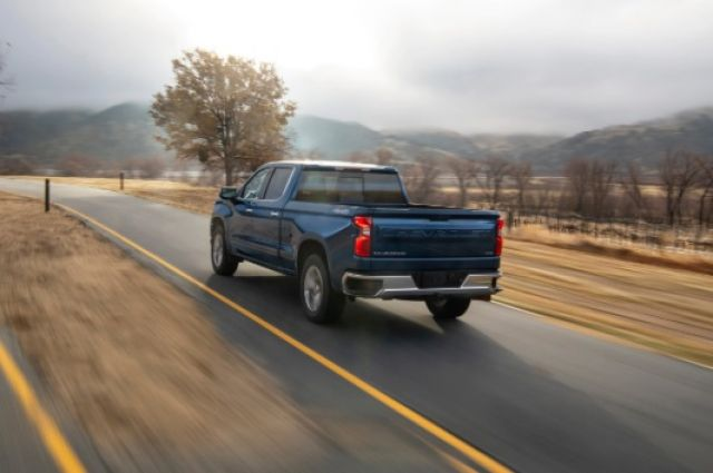 2021 Chevy Silverado 1500 rear