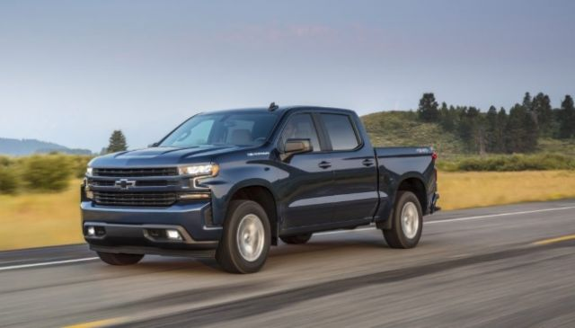2021 Chevy Silverado 1500 side