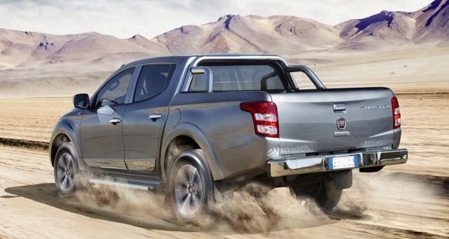 2021 Fiat Fullback rear