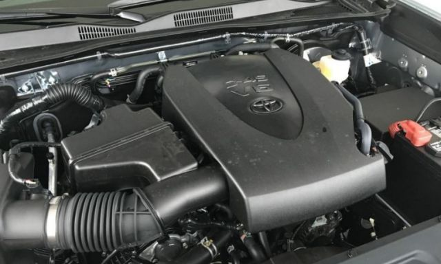 2021 Toyota Tacoma engine