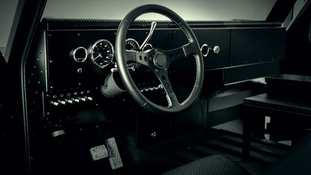 2021 Bollinger B2 interior