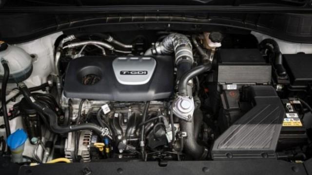 2021 Hyundai Santa Cruz engine
