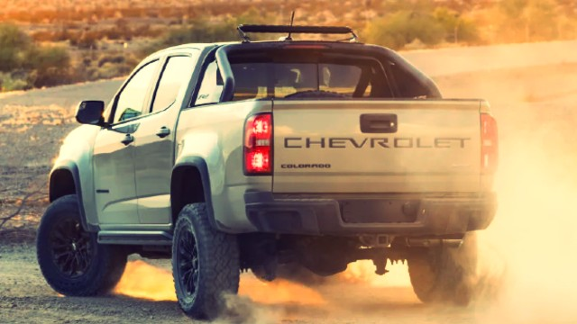 2021 Chevrolet Colorado ZR2 tailgate