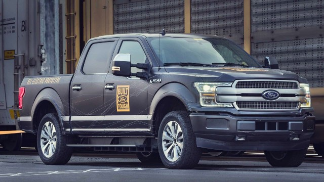 2021 Ford F-150 Electric exterior