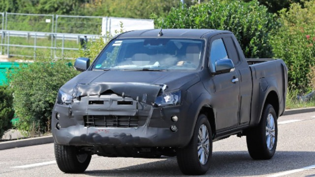 Spied 2021 Isuzu D-Max Gets Mid-Cycle Refreshments