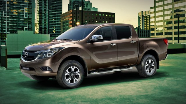 2021 Mazda BT50 facelift