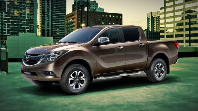 2021 Mazda BT50 facelift