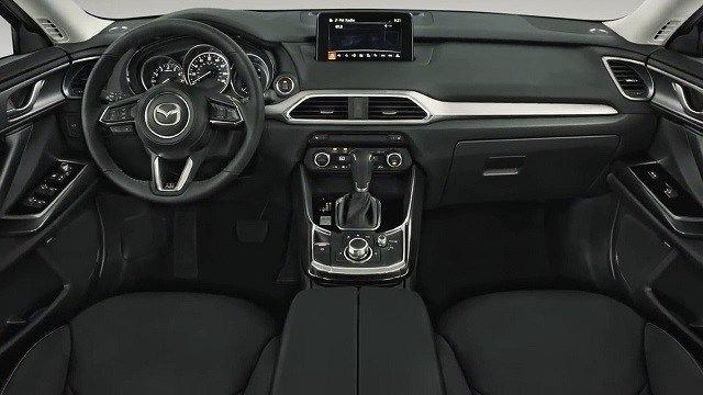 2021 Mazda BT50 interior