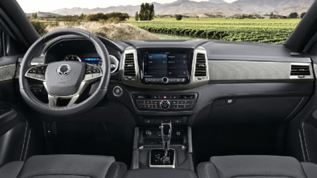 2021 SsangYong Musso interior