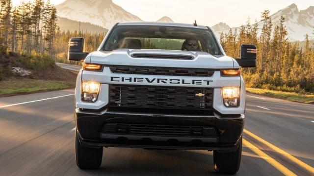 2021 Chevy Silverado 2500HD grille