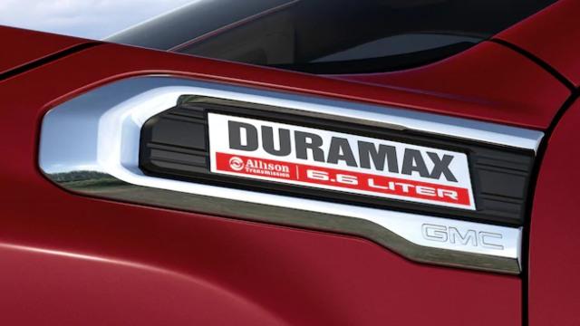2021 GMC Sierra 3500 HD diesel
