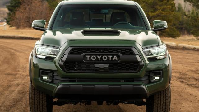 2022 Toyota Tacoma facelift