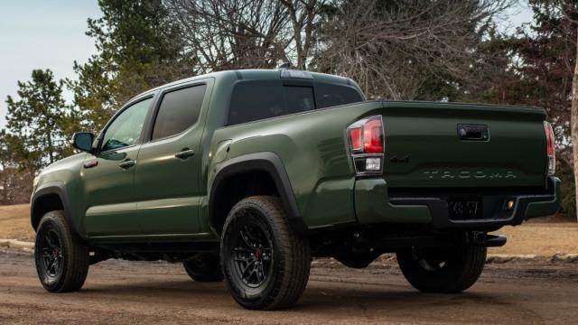 2022 Toyota Tacoma redesign