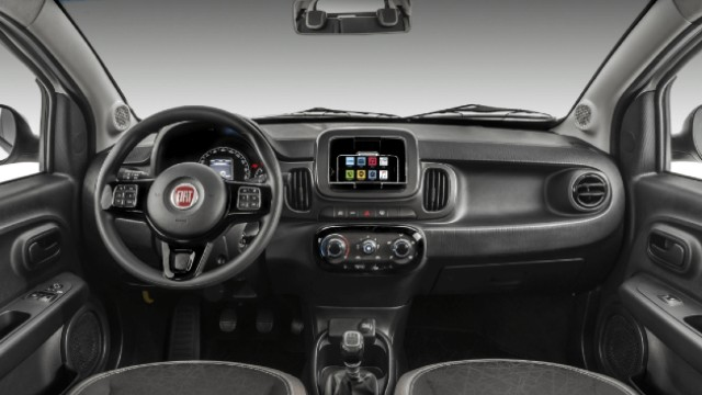 2021 Fiat Mobi Pickup interior