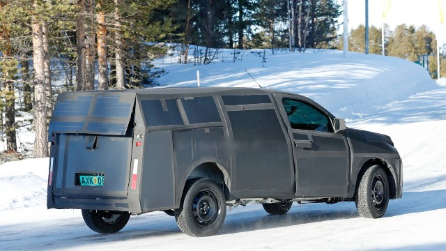 2021 Fiat Mobi Pickup spy photos