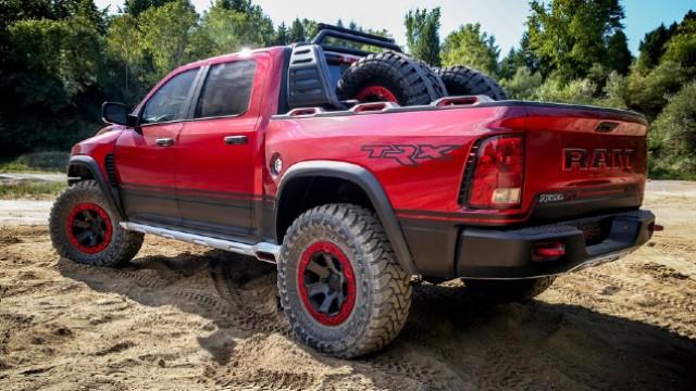 2021 RAM 1500 Rebel TRX exterior