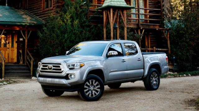2021 Toyota Tacoma Hybrid facelift