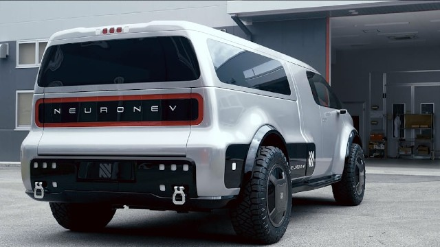 2021 Neuron EV truck