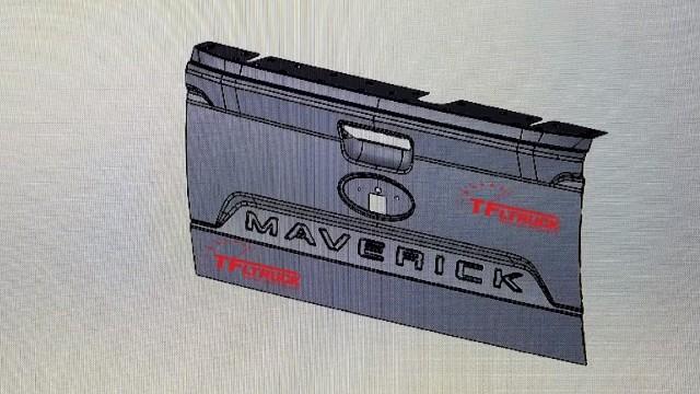 2022 Ford Maverick tailgate