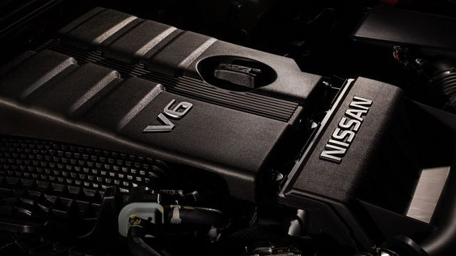 2022 Nissan Frontier engine