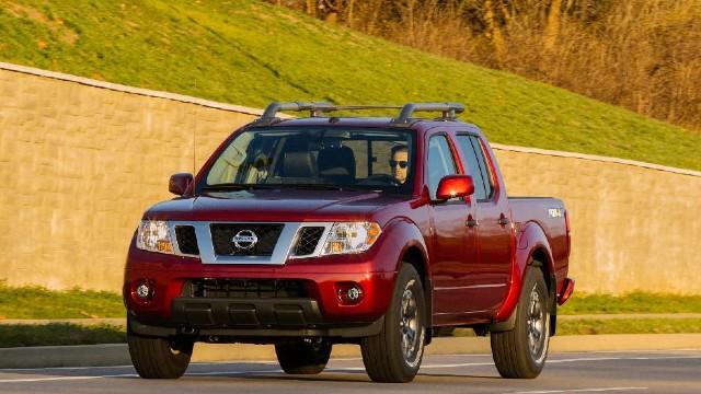 2022 Nissan Frontier facelift