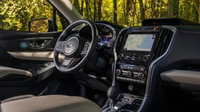 2021 Subaru Pickup Truck interior
