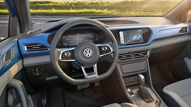 2021 VW Tarok interior