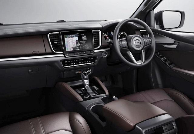 2022 Mazda BT-50 interior