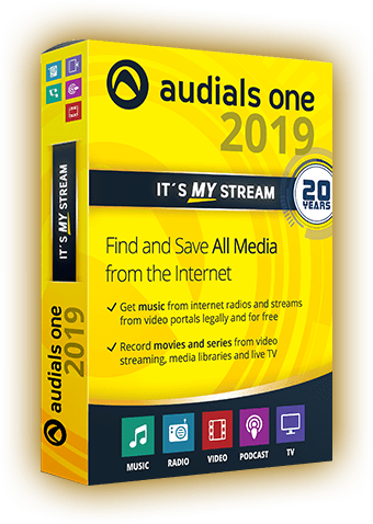 Audials One With License Key Full Crack Free Download 2019