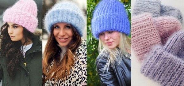 Модные вязаные шапки 2019: тенденции моды, фото новинок