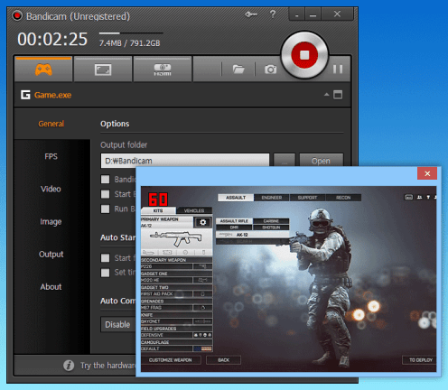 Bandicam Screen Recorder 4.4.0 Build 1535 Crack