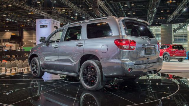 2019 Toyota Sequoia rear