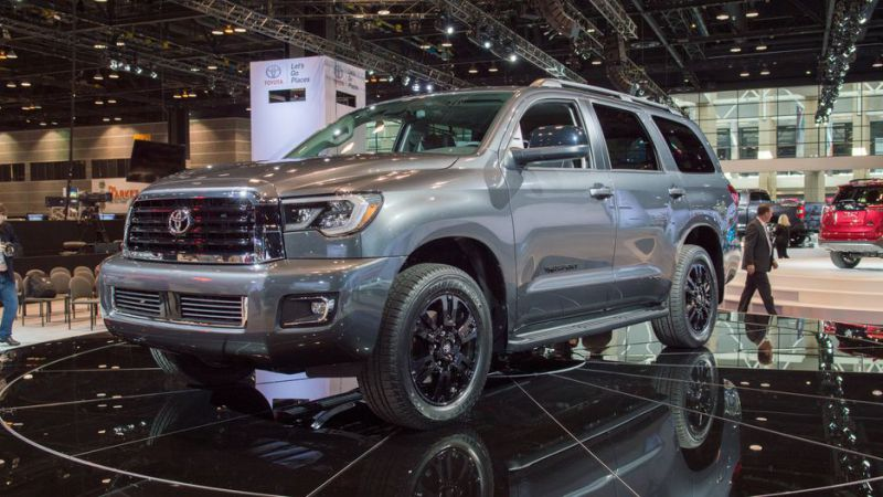 2019 Toyota Sequoia Redesign, Release Date