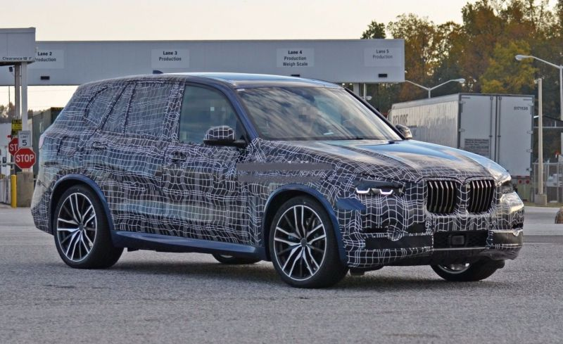 2019 BMW X5 Caught Testing, Plug-in Hybrid