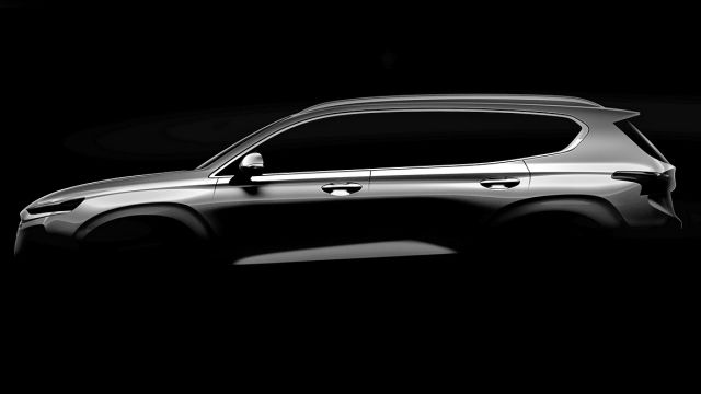 2019 Hyundai Santa Fe First Production Photos Revealed 2019 2020