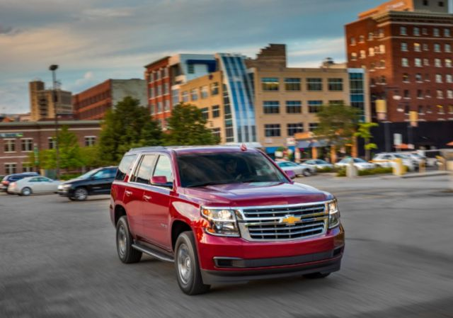 2019 Chevrolet Tahoe front view