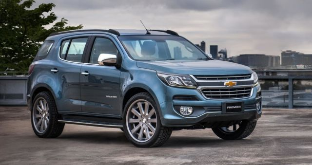2019 Chevrolet Trailblazer front