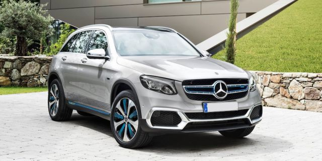 2019 Mercedes-Benz GLC F-Cell front