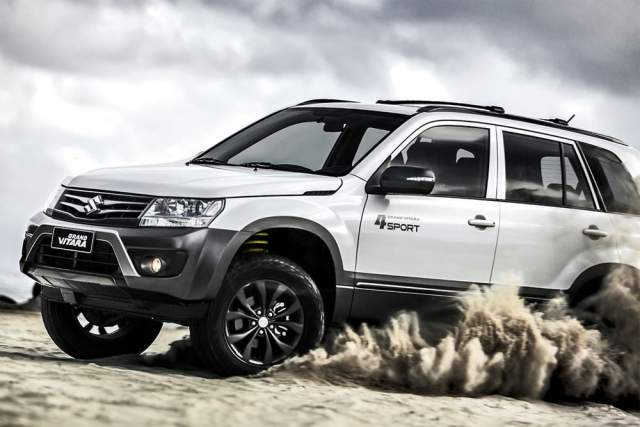 2019 Suzuki Grand Vitara off-road 4x4
