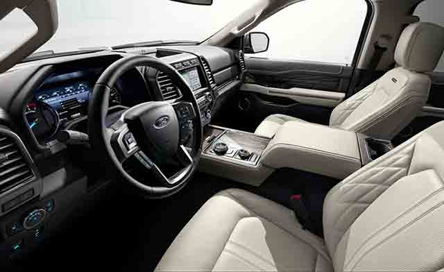 2019 Ford Expedition Hybrid interior