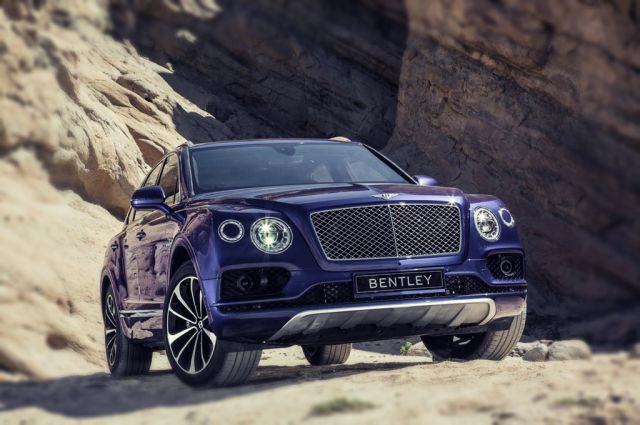 2019 Bentley Bentayga Sport Coupe front