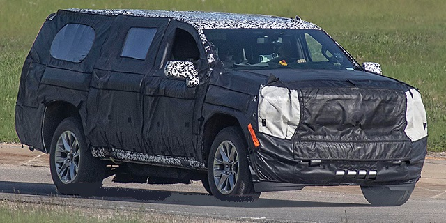2020 Chevy Tahoe Spied