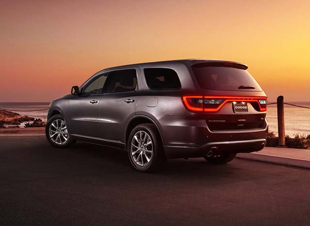 2020 Dodge Durango rear